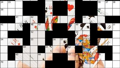 Französisches Kartenspiel Kreuzworträtsel